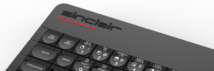 The new ZX Spectrum Next.