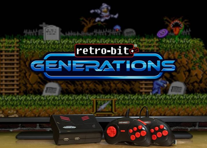 The Retro-Bit Generations Console.