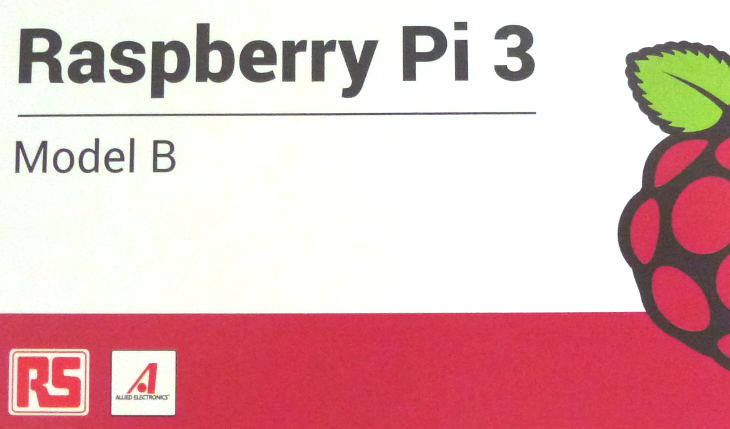 Box for the Raspberry Pi 3 Model B.