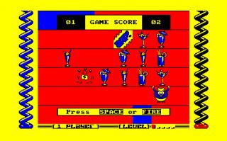 Harvey Headbanger defeats his rival Hamish Highball.