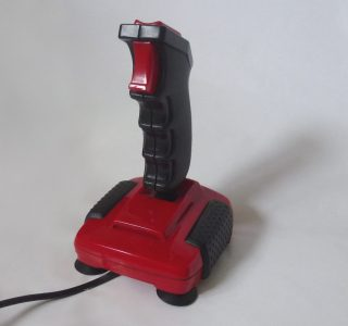 The Spectravideo Quickshot 2 Turbo Joystick.