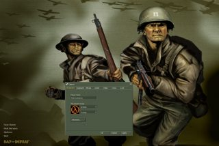 A screenshot from Day of Defeat