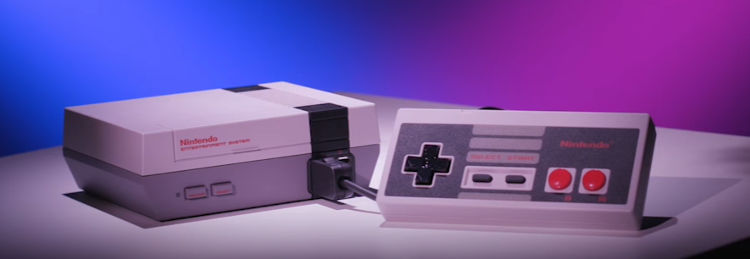 The NES Classic Edition otherwise known as the NES Mini